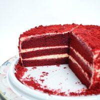 Receta red velvet fitness