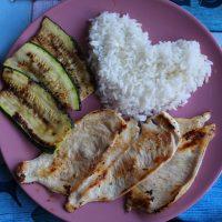 Receta con arroz basmati