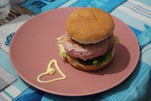 Receta de hamburguesa fitness