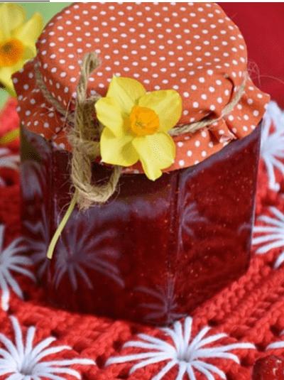 Receta de mermelada de frutos rojos fitness