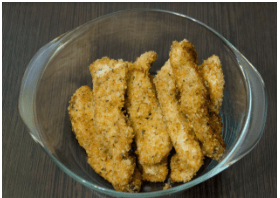 Receta de nuggets fitness