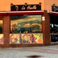 Restaurante vegetariano La Huella en Rivas