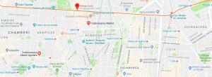 mapa tradicionarius Madrid