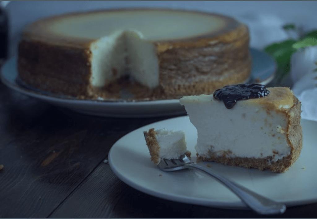 tarta de queso fitness