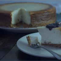 Receta de tarta de queso fitness
