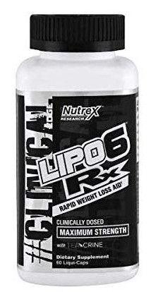 Nutrex Lipo 6 Rx