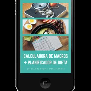Calculadora de macros+planificador de dieta